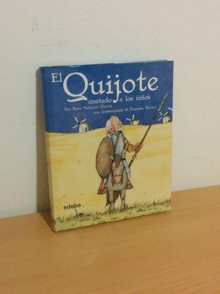 El Quijote contado a los niños. Libros