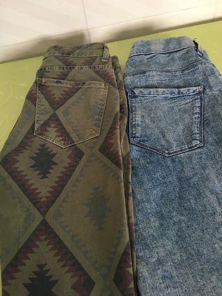 Pantalones talla 34