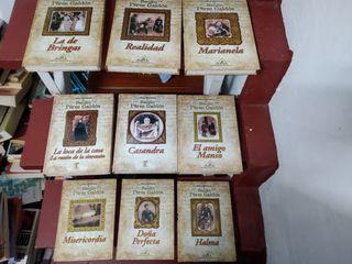 5 libros BENITO PÉREZ GALDÓS y 3 mas