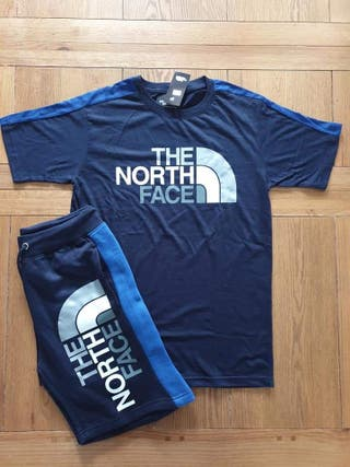 North face shorts tracksuit