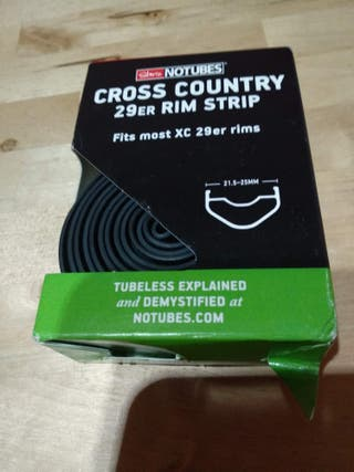 Fondo llanta Stans Notubes Cross Country 29er