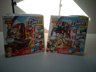 2 cajas Action Links TOY STORY 3