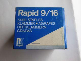 grapas rapid 9 / 16