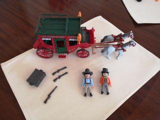 Playmobil diligencia del oeste