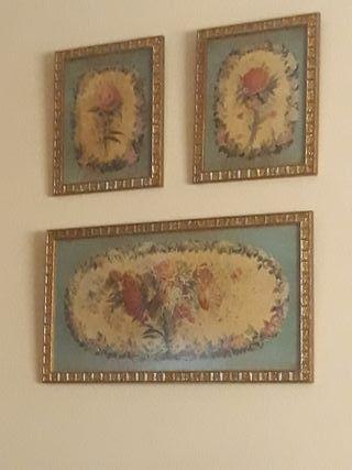 cuadros de colección 3 unidades