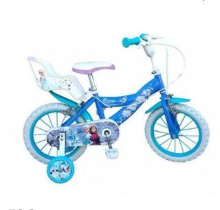 bicicleta infantil, 14'. frozen
