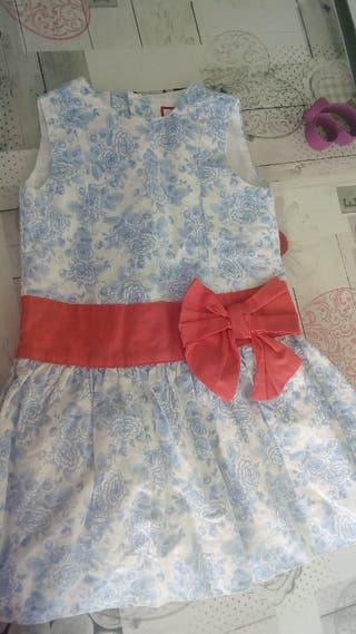 vestido talla 2 años neckvand neck