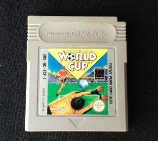 Juego - Game Boy - World Cup