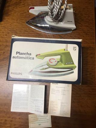 Plancha vintage PHILIPS años 70