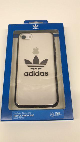 Funda móvil iPhone 7 o 8 Adidas original