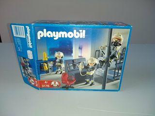 Playmobil 3176. Sala de bomberos