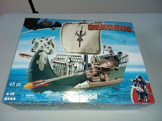 Playmobil 9244. Barco Vikingo