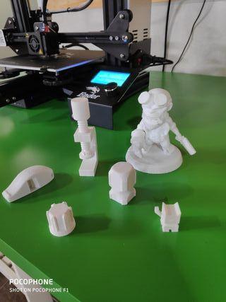 se hacen piezas en impresora 3d. anet a8. ender3.