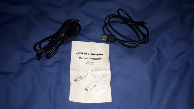 Cable MHL para movil