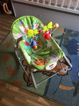 Hamaca bebé Fhiser Price con vibración