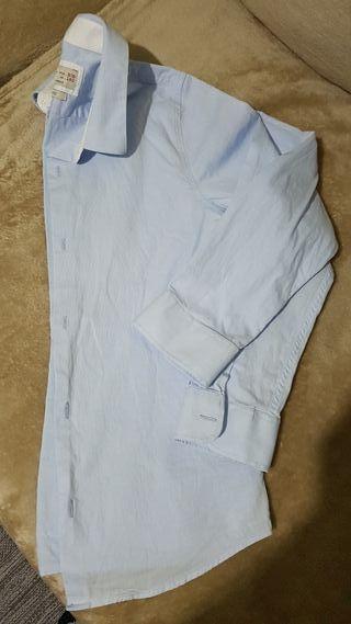camisa zara talla 9-10 años