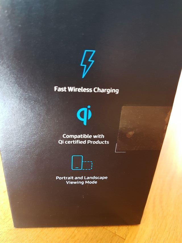 cargador inalámbrico Samsung oficial