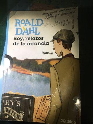 Libro boy relatos de la infancia
