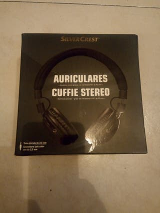 Auriculares cuffie stereo