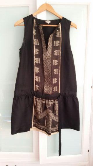 Vestido negro corto talla 42 de Hoss Intropia