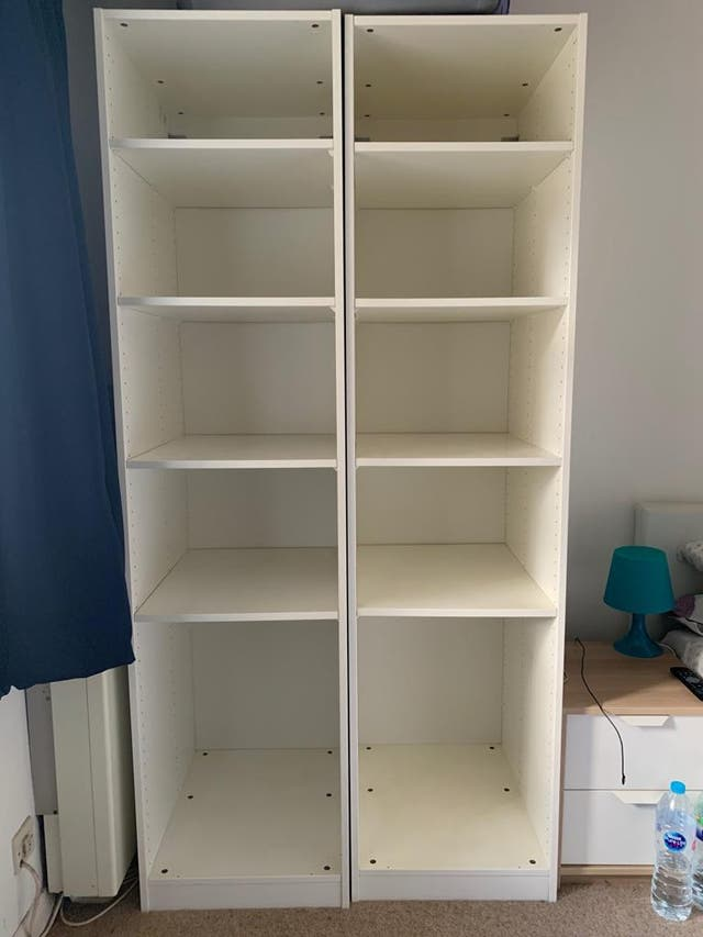 IKEA open wardrobes