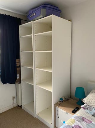 IKEA open wardrobes