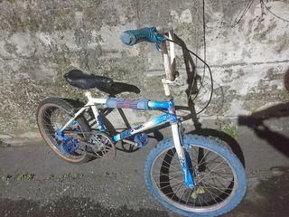 bmx esmaltina / bicicleta bmx antigua