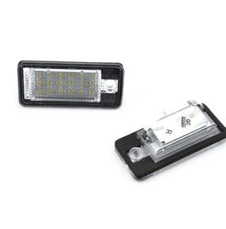 LED blanco para matrículas audi a3 audi a 6