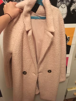 Pink winter coat