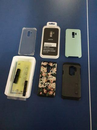 Fundas e hydrogel Samsung S9+