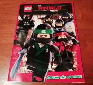 ALBUM LEGO NINJAGO MOVIE COMPLETO