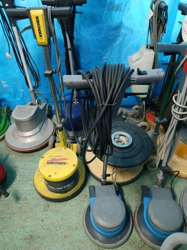 Maquinas de limpieza, fregadora, aspiradores,