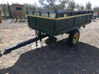Remolque agricola plataforma