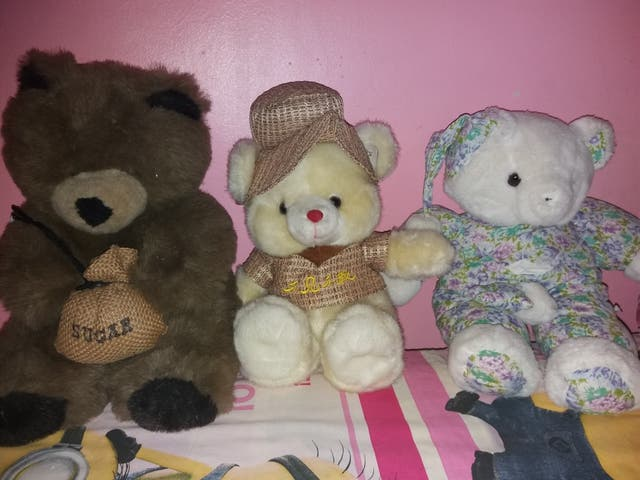 lote 3 peluches