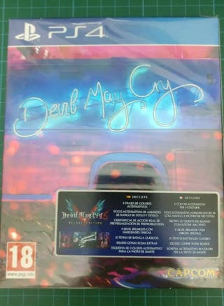 Devil May Cry 5 Deluxe PS4 Nuevo