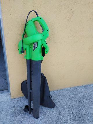 sopladora trituradora con bolsa