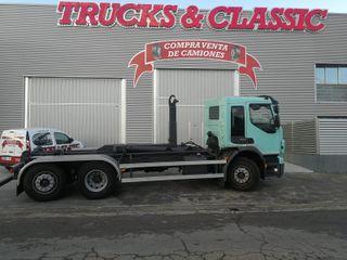 Camión VOLVO FE280 6x2 gancho multilif