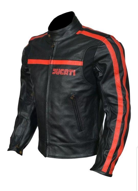 e2f3fb2d325 Chaqueta moto piel ducati de segunda mano por 220 € en Vinaros en ...