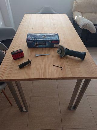 radial / amoladora a bateria