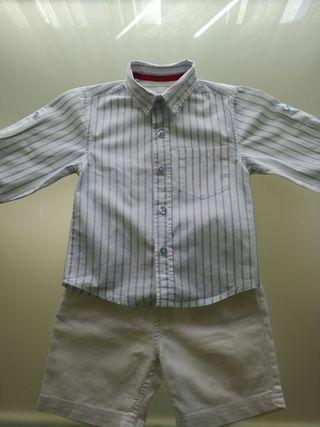 conjunto vestir niño 9-12 meses
