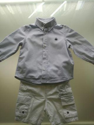 conjunto vestir niño 12-24 meses
