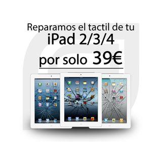 iPad 2 / iPad 3 / iPad 4 (Reparacion de tactil)