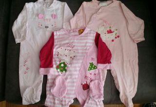 Lote pijamas 6 meses.