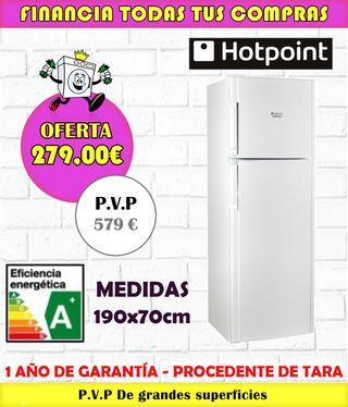 FRIGORIFICO HOTPOINT A+ 190x70CM