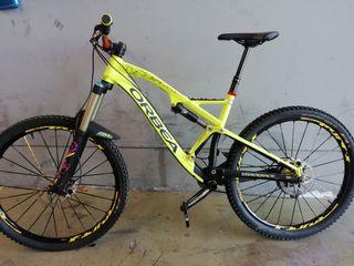Bicicleta enduro talla m