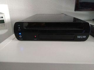 Wii U + disco duro con 140 juegos