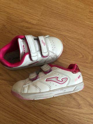 Zapatillas niña talla 25