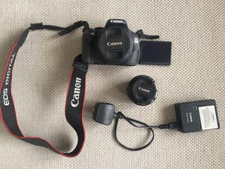 CANON 600d + 18-55 mm and 50 mm LENSES!!