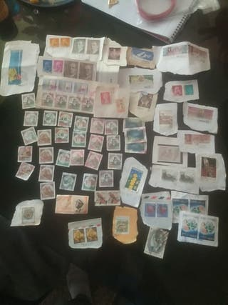 sellos barias partes del mundo