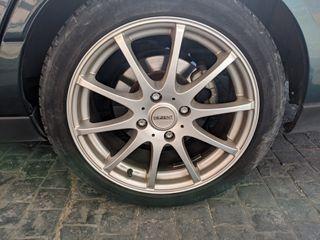 """Llantas Dezent 17 """" con neumáticos Michelin"""